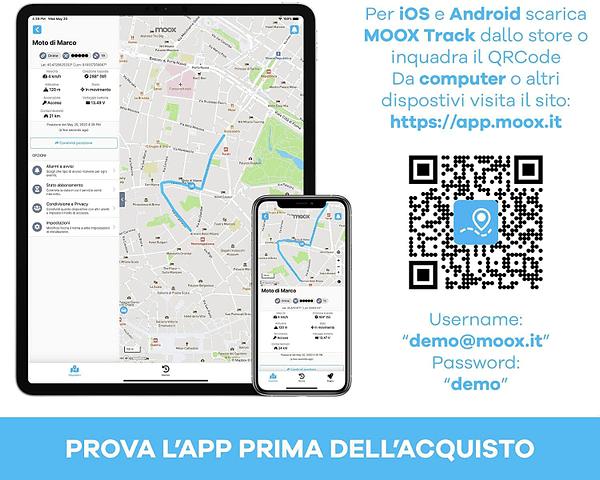 Prova l'app prima di acquistare questo localizzatore